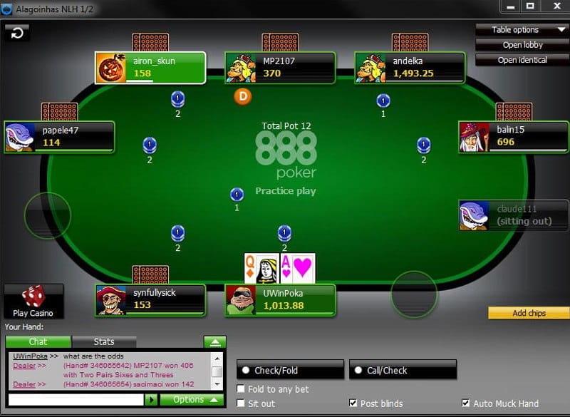 poker startguthaben