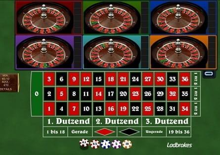 Spielen sie Multi Wheel Roulette Online bei Casino.com Österreich
