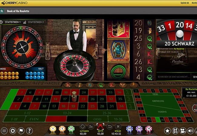 Live Casino Book Of Ra