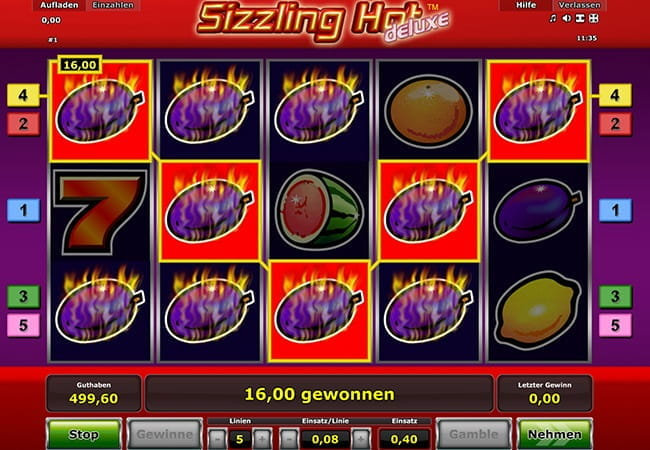 online casino reviews sizzlig hot