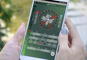 Ein Bild von einem Live-Dealer-Spieler