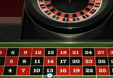 Platzieren eines Einsatzes an einem Live-Roulette-Tisch von NetEnt