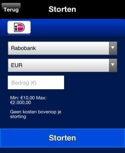 Ideal mobiel casino euro