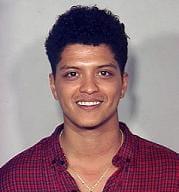 Bruno Mars politiefoto