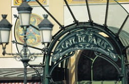 Cafe de Paris features lavish styling