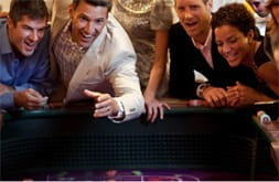 A casino onboard a Celebrity Cruises ship