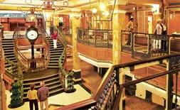 Onboard the a Cunard ship