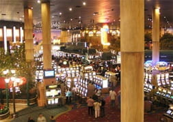 New York-New York casino floor