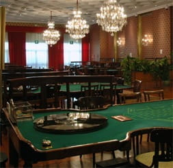 Inside the San Remo Casino