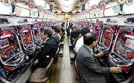 Fruit machines Japan
