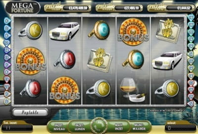 grand online casino mega fortune