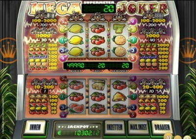 casino slot online english mega joker