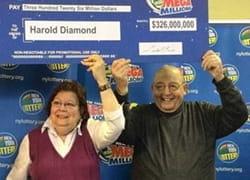 Harold Diamond mit seiner Frau