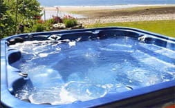 UK lotto winners hot tub