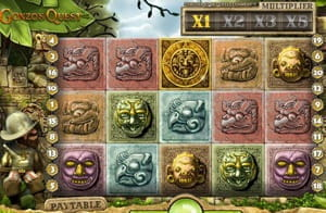 New game: Gonzo's Quest