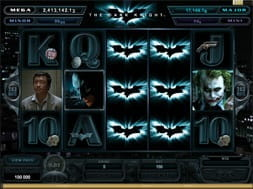 Videoslots the Dark Knight slot