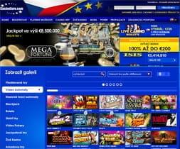 Casino Euro Czech version