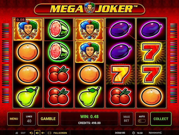 Mega Joker Slot Review🥇 & Online Casino Sites 2020