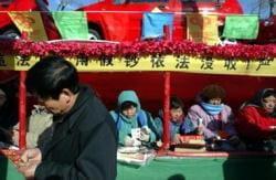 Chinesischer Lottospieler