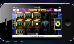 Twin Spin auf dem Smartphone