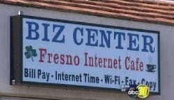 Biz Center internet cafe