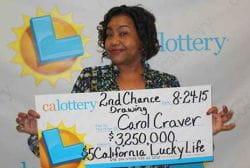 Carol Craver jackpot