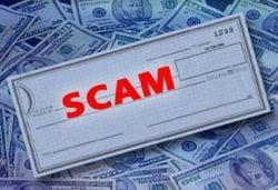 Check scam