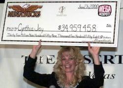 Cynthia Jay Megabucks jackpot