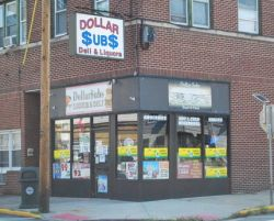 Dollar Subs store