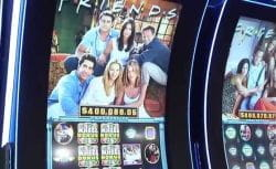 Friends gambling machine