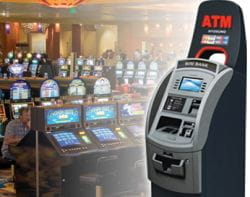 Gambling ATM machines