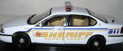 Harris County Sheriff car