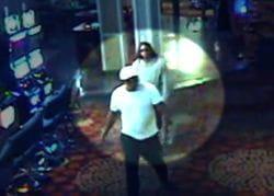 Hooters Casino robbers