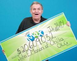 John Mason lotto