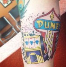 Las Vegas Dunes tattoo