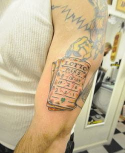 Lotto tattoo