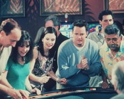 Monica Chandler gambling