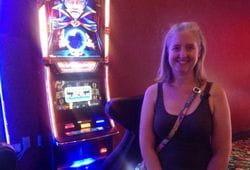 Nicole Lesley slot jackpot