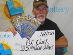 Pat Clark jackpot