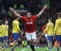 Robin van Persie Manchester United Arsenal