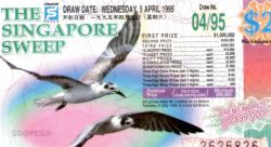 Singapore Sweep lottery