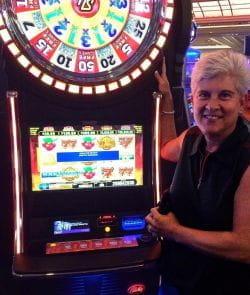 Susan Cupit slot jackpot