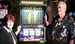 Walter Linda Misco Lion's Share machine