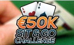 Unibet Sit & Go challenge