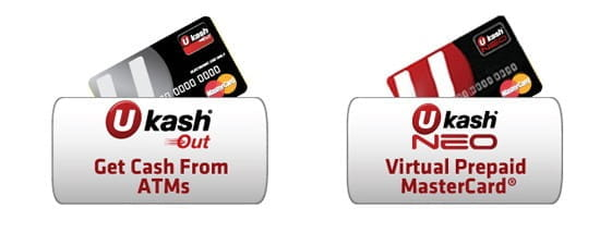 Ukash prepaid credit cards