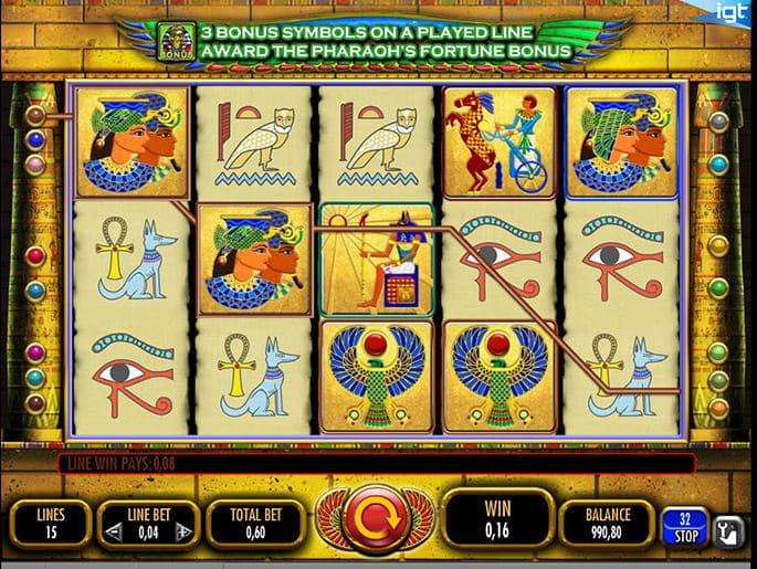 Pharaohs Fortune Online