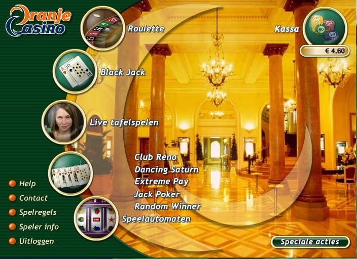 Lobby Oranje Casino