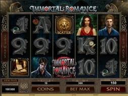 Immortal Romance at Videoslots