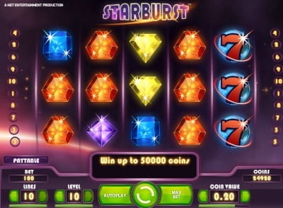 online slots real money starburts