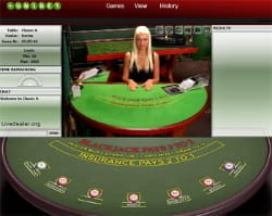Live Blackjack Unibet